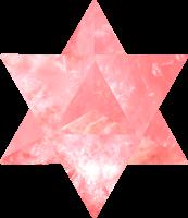 Estrella tetraedrica rosa kriya yoga kundalini